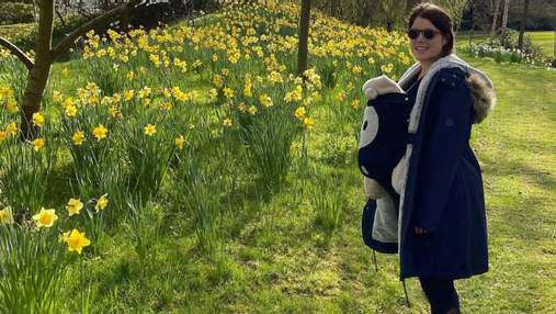 Принцеса Євгенія показала рідкісне фото з сином: миловидний кадр