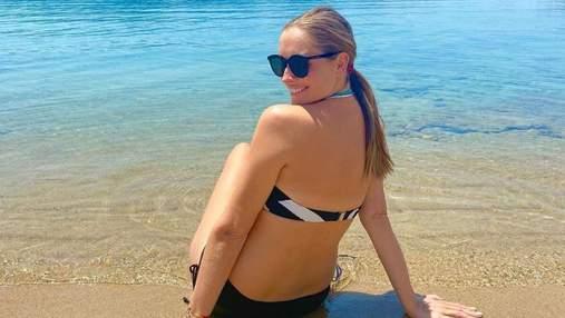 Беременная Катя Осадчая отдыхает в Турции: пикантное фото в бикини