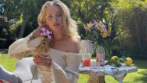 Яркие акценты: Эльза Хоск показывает безупречный вариант летнего образа