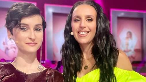 Дві зірки Євробачення зустрілись на зйомках шоу: яскраве фото Джамали та солістки Go_A
