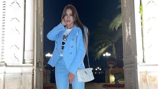 """Победительница """"Холостяка-10"""" Даша Ульянова показала, как отметила день рождения в Турции"""