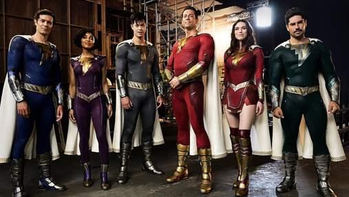 """Як виглядатимуть супергерої """"Шазам 2"""": режисер показав фото костюмів"""