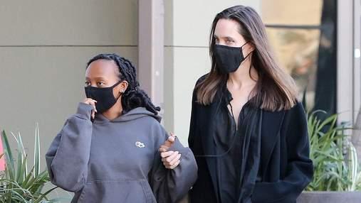 Донька Анджеліни Джолі відчувала прояви расизму після операції