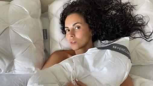 Оголена в ліжку: Настя Каменських приголомшила відвертим фото