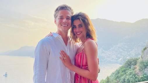Ангел Victoria's Secret Тейлор Хилл выходит замуж: фантастические фото с помолвки
