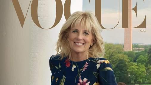 Джилл Байден украсила обложку Vogue: трогательная съемка с мужем