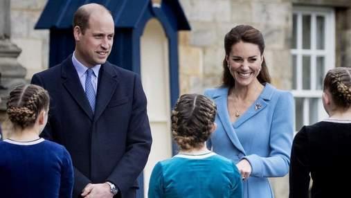 Кейт Міддлтон і принц Вільям взяли сина Джорджа на Євро-2020