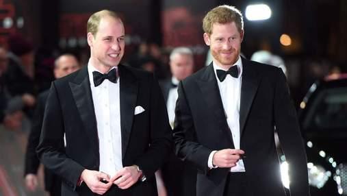 Експерт з мови тіла розповів про емоції принців Гаррі та Вільяма на відкритті статуї Діани