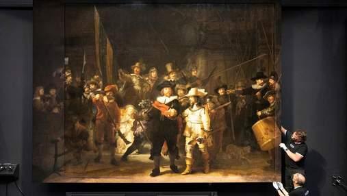 """Високі технології проти вандалів і старості: друге життя """"Нічної варти"""" Рембрандта"""