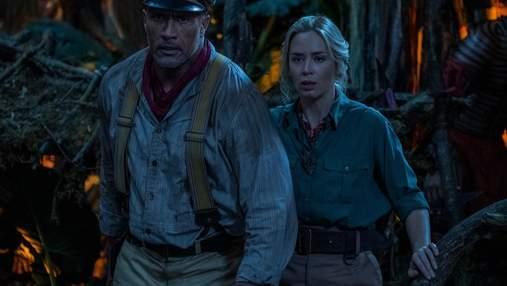 """Круїз по джунглях"": меседжі фільму від Двейна Джонса й Емілі Блант в нових ефектних трейлерах"