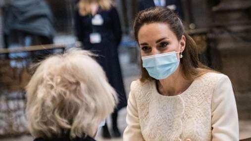 Кейт Міддлтон опинилась на самоізоляції після контакту з хворим на COVID-19