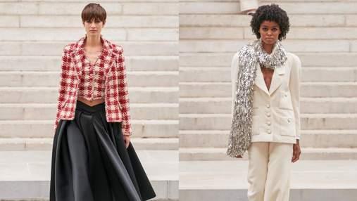 Посвящено музам: Chanel представили кутюрную коллекцию осень – зима 2021/22 – фото