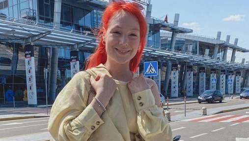 Світлана Тарабарова показала стильний образ в аеропорту: фото