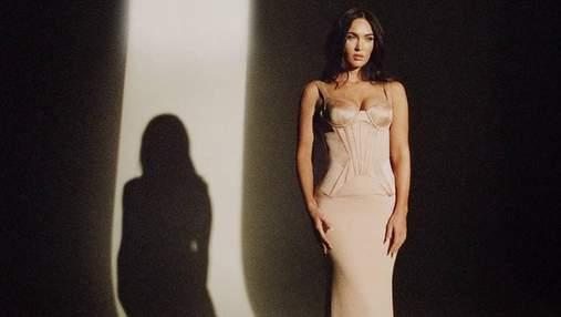 Меган Фокс снялась в роскошной фотосессии для июльского глянца In Style: эффектные кадры