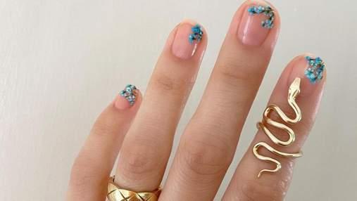 Морское дно на ногтях: 10 красивых и стильных вариантов маникюра в синих тонах