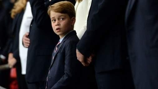 Вся Англия сейчас – это Джордж: 7-летний принц трогательно отреагировал на проигрыш Англии