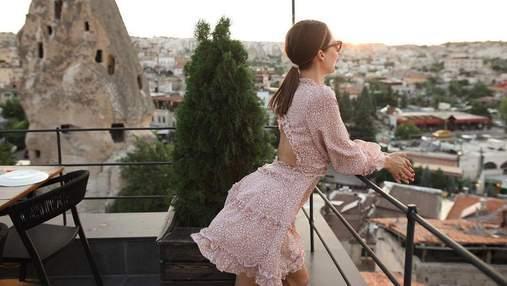 Дружина Володимира Остапчука полетіла в Туреччину зі Славою Камінською: фото, відео