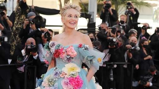 Шерон Стоун вразила виходом на Каннському кінофестивалі у cукні від Dolce & Gabbana: фото