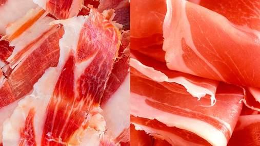 Любимые мясные деликатесы: какая разница между хамоном и прошутто