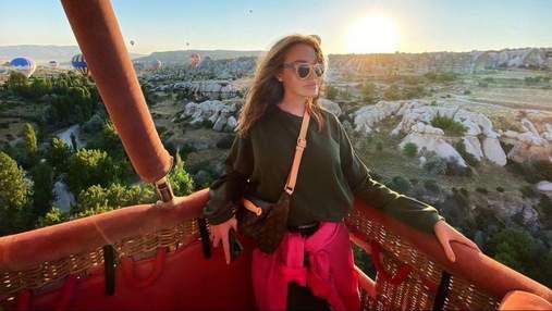Слава Каминская отметила день рождения в Турции: фото из Каппадокии