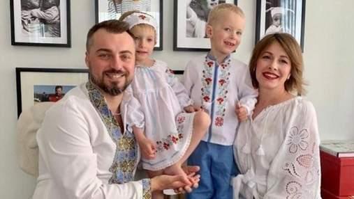 Елена Кравец показала празднование первого юбилея детей-двойняшек: яркие снимки