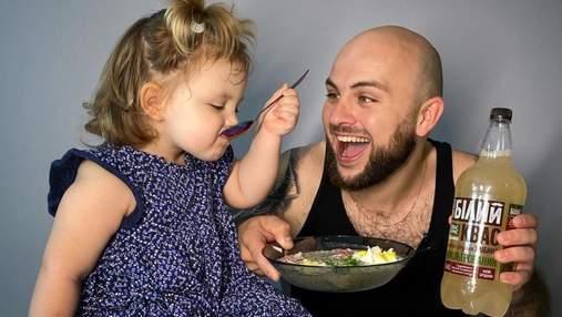 Рецепт окрошки на квасе с йогуртом от шеф-повара Николая Люлько и его дочки Златы