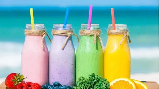 Шесть полезных летних смузи, которые не оставят вас равнодушными