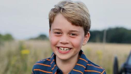 Герцоги Кембриджські показали миле фото принца Джорджа напередодні його 8-річчя