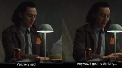 """Нескрываемое равнодушие: кадр из сериала """"Локи"""" превратился в мем"""