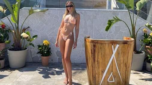 Леся Нікітюк захопила сексуальним тілом у бікіні: спекотне фото з Чорногорії