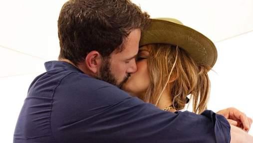 Дженніфер Лопес підтвердила возз'єднання з Беном Аффлеком: фото палкого поцілунку
