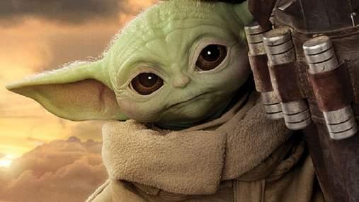 """У мережі показали новий постер до серіалу """"Мандалорець"""" з Грогу і Люком Скайуокером"""