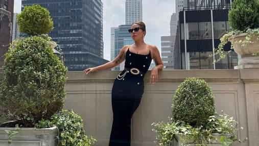 Леді Гага зачарувала та вразила фанатів образами у чорних сукнях: ефектні кадри
