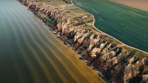Усі перлини Херсонщини в одному відео: блогер показав найкращі локації з висоти польоту