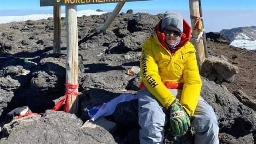 Подросток из Львовщины стал самым молодым украинцем, покорившим Килиманджаро