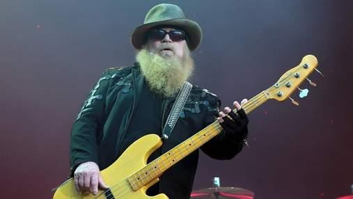 Помер басист легендарної групи ZZ Top Дасті Гілл