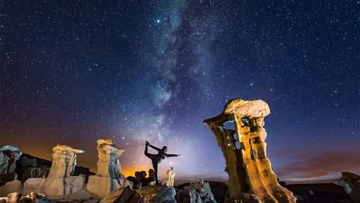 Як виглядає небо від Ірану до Каліфорнії: фотограф показав неймовірні знімки зоряного сяйва