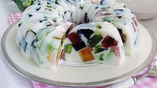 """Смачні десерти, для яких не потрібна духовка: """"Бите скло"""", панакота та тірамісу"""