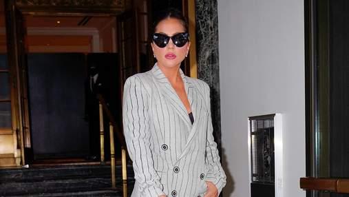 Леди Гага показала винтажный образ от Жан-Поля Готье: роскошный выход в Нью-Йорке