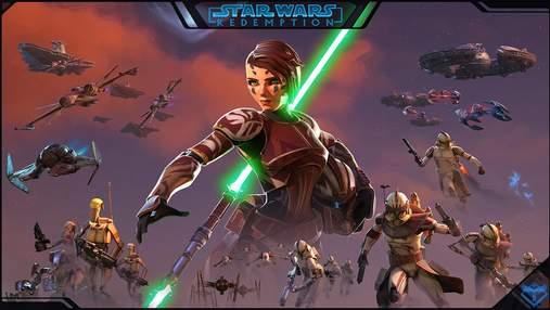 """Поклонники в восторге: энтузиаст создал оригинальную видеоигру по мотивам """"Звездных войн"""""""