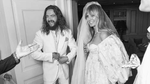 Хайди Клум празднует годовщину свадьбы в Италии: там она вышла замуж 2 года назад