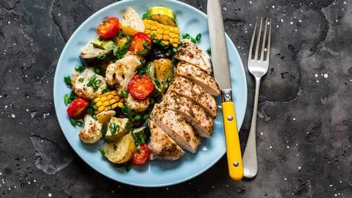 Найкращі сезонні овочі до різних частин курочки: рецепти на будь-який смак