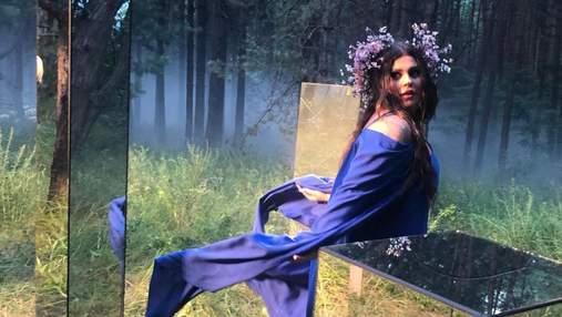 Александра Зарицкая показала, как отметила свой день рождения возле водопада