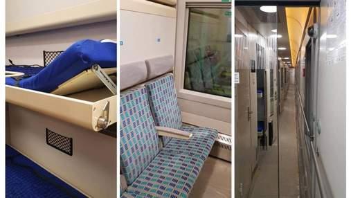"""В сети показали, как выглядят вагоны элитного поезда """"Киев – Одесса"""": фото"""