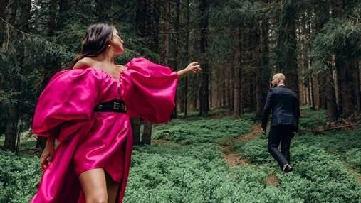 Влад Яма приголомшив сімейною фотосесією в лісі: ефектні фото