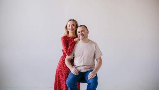 Віктор Павлік і Катерина Реп'яхова охрестили сина: фото