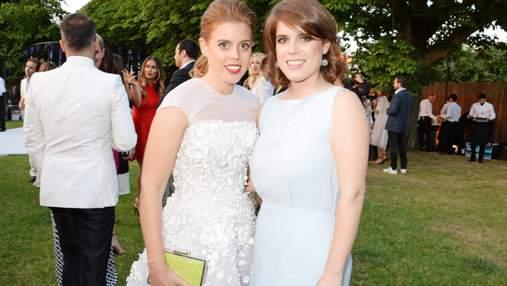 В день рождения: принцесса Евгения поделилась архивными фото с сестрой Беатрис