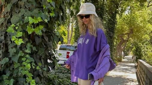 Ельза Госк вчить, як стильно носити панами цього літа: фото образів