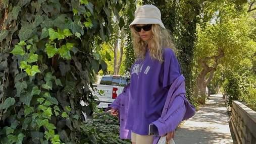 Эльза Хоск учит, как стильно носить панамы этим летом: фото образов