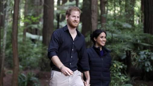 """Меган Маркл і принц Гаррі задумувались про переїзд у Нову Залендію задовго до """"мекзиту"""""""